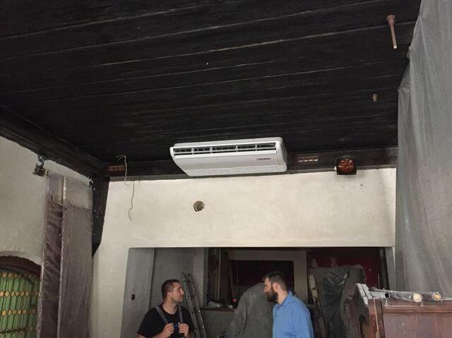 klimatyzacja w pubie