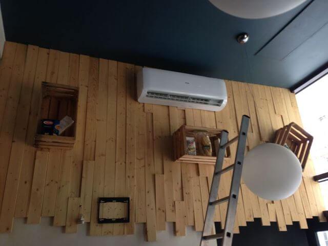 montaż klimatyzacji w pizza & more