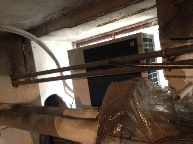 montaż klimatyzacji w piwnicy