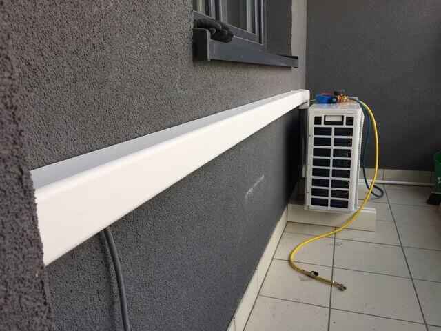 montaż klimatyzacji haier na balkonie
