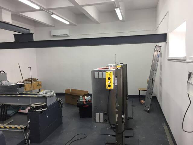 HAIER TUNDRA do chłodzenia maszynowni windy.