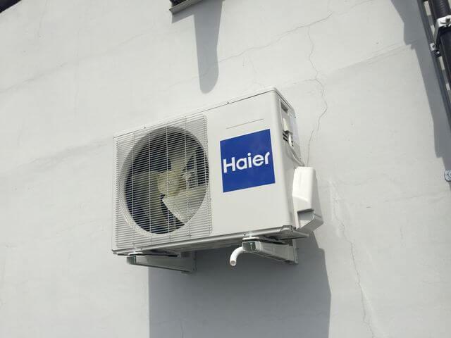 HAIER TUNDRA 3,6 kW do chłodzenia maszynowni windy.