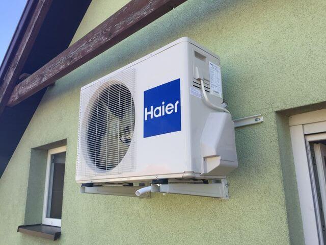 klimatyzacja na domu jednorodzinnym