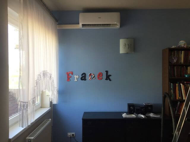 montaż klimatyzacji pokoju dziecka