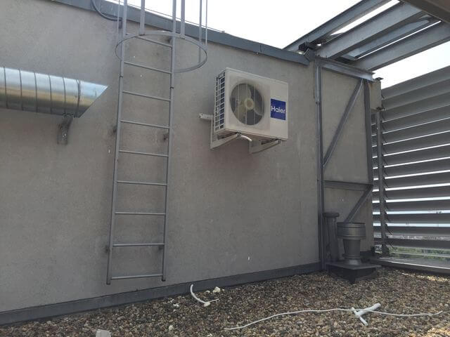 klimatyzator haier na dachu