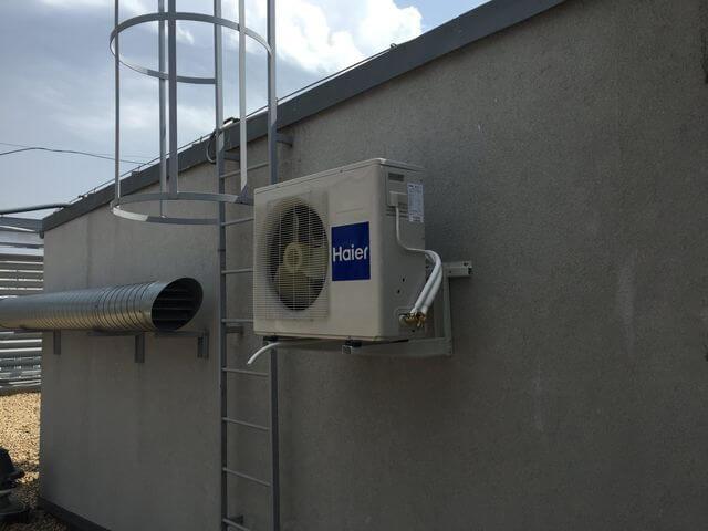 klimatyzator na dachu