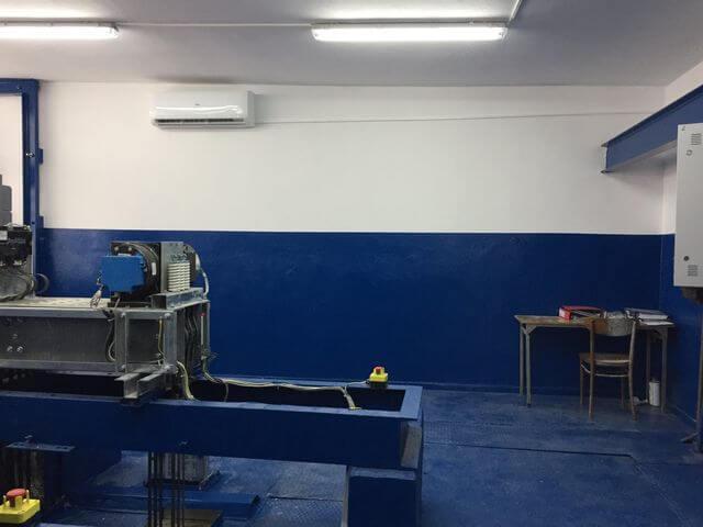 klimatyzacja haier w maszynowni