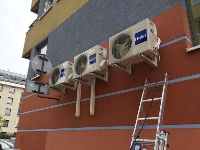 montaż klimatyzacji zewnętrznej