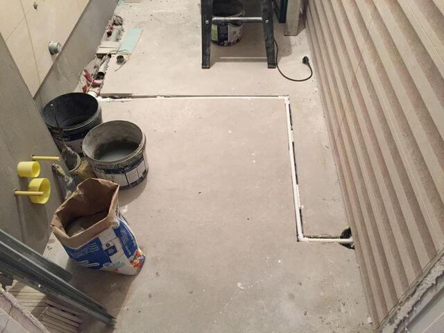 instalacja klimatyzacji w podłodze