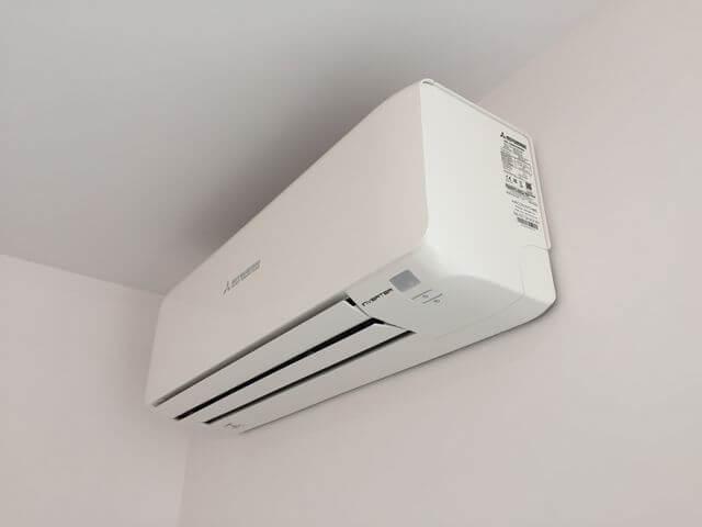 klimatyzator mitsubishi w mieszkaniu model z wifi