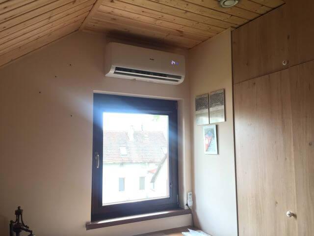 klimatyzacja haier w domu jednorodzinnym