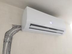 montaż klimatyzatora haier flare w mieszkaniu we Wrocławiu