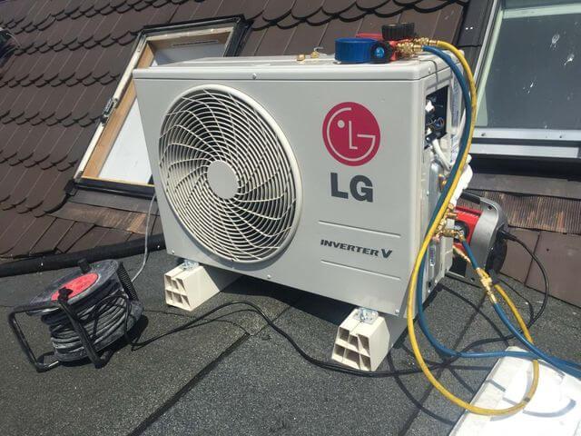 klimatyzator LG inverter v jednostka zewnętrza