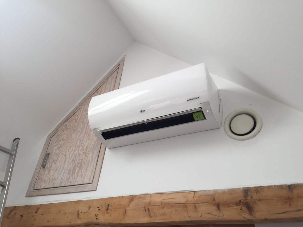 klimatyzator LG PRESTIGE - H12AK w domu