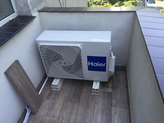 montaż klimatyzacji zewnętrznej na balkonie we wrocławiu