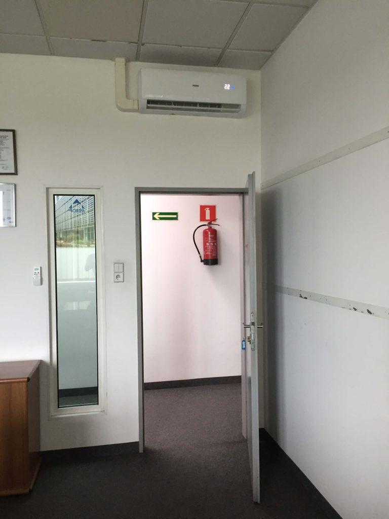 klimatyzacja haier tunder w biurze wrocław