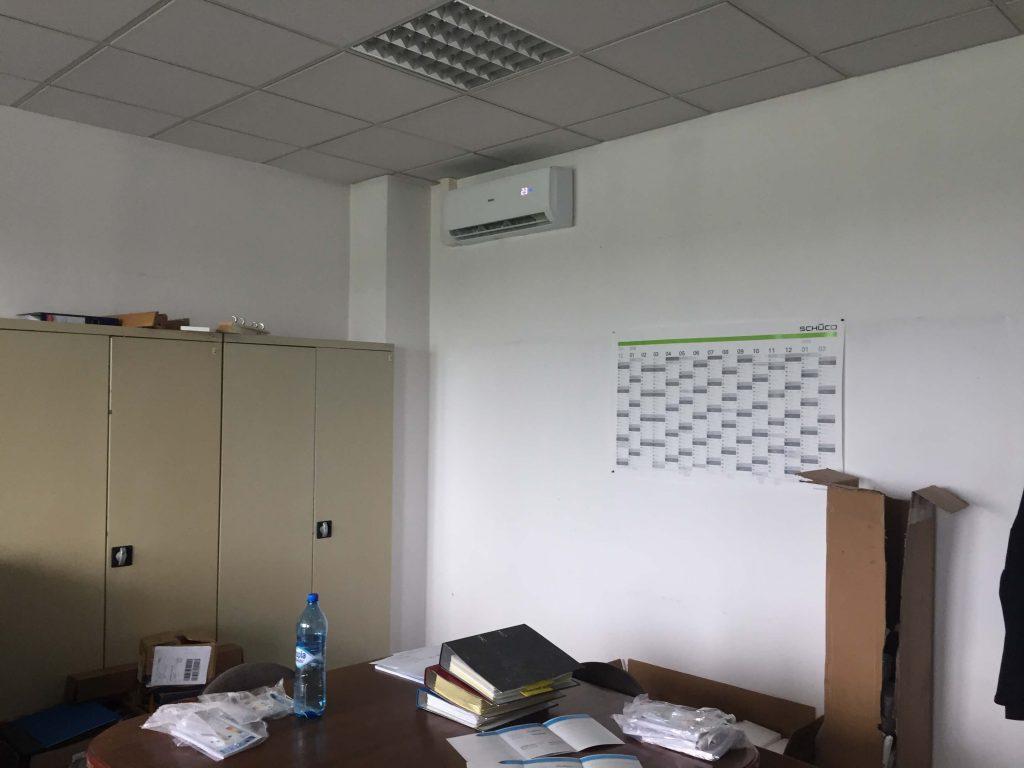 montaż klimatyzacji w biurze wrocław