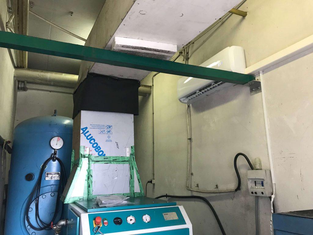 klimatyzator HAIER Tundra Green do chłodzenia sprężarkowni