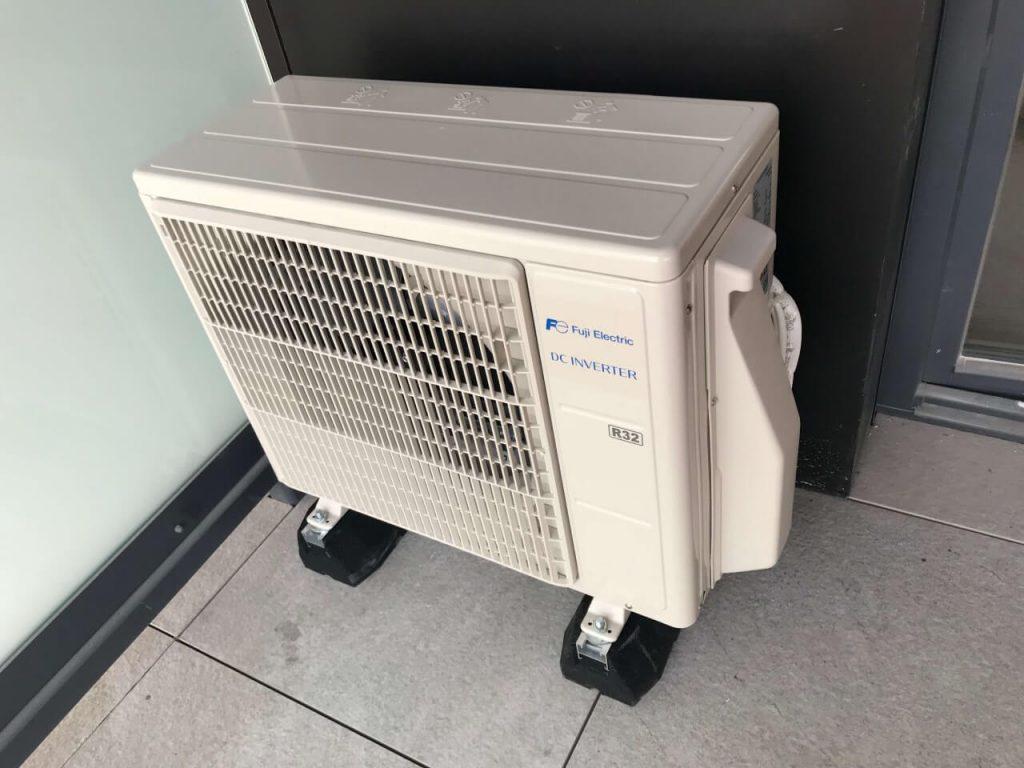 klimatyzacja zewnętrzna w mieszkaniu