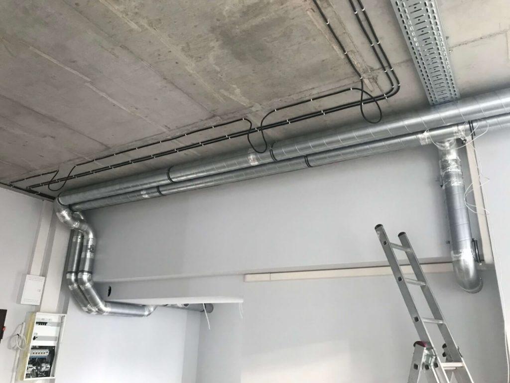 system wentylacji w biurze we wrocławiu