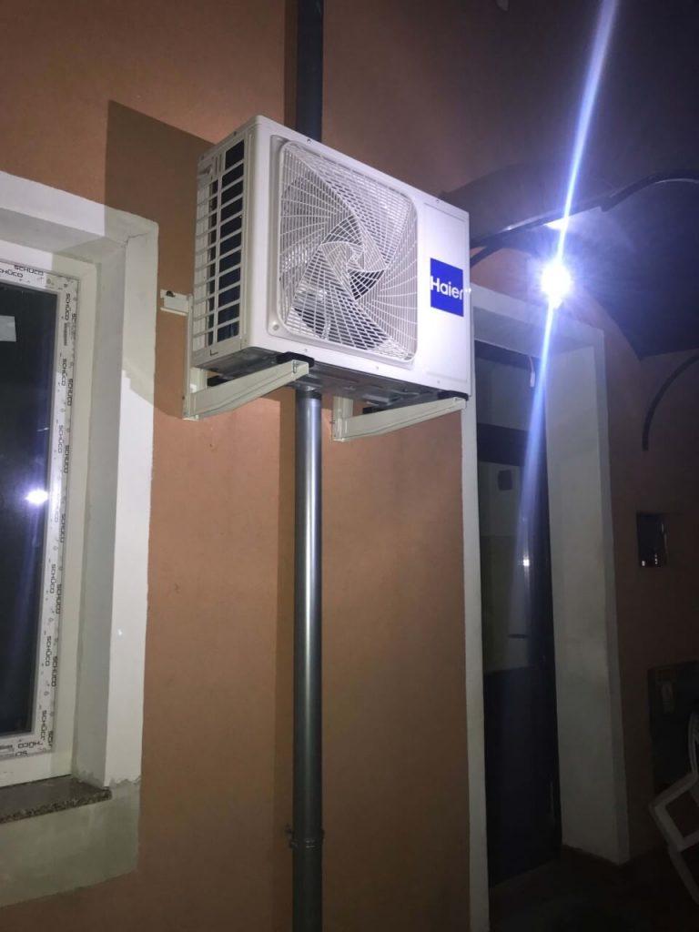Klimatyzacja prestiżowa na zewnątrz Haier Dawn