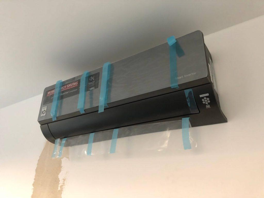 Klimatyzacja Multi split marki lg w mieszkaniu na ścianie