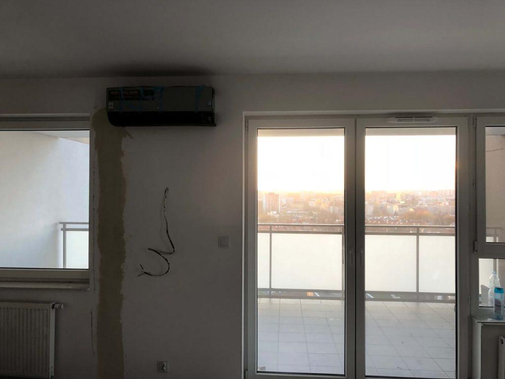 Klimatyzacja Multi split marki lg w mieszkaniu