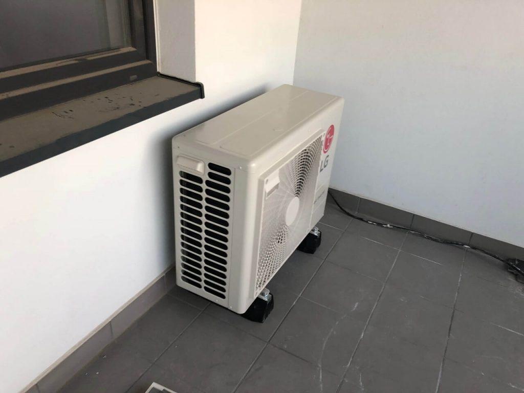 klimatyzator marki LG jednostka zewnętrzna
